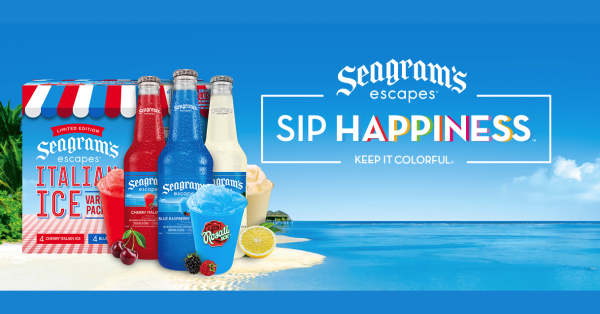 The Real Seagrams Escapes Italian Ice Sweepstakes