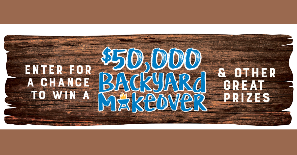 Upgrade Your Summer Backyard Makeover Sweepstakes