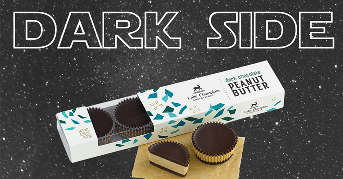 Welcome to the Dark Side Lake Champlain Chocolates Giveaway