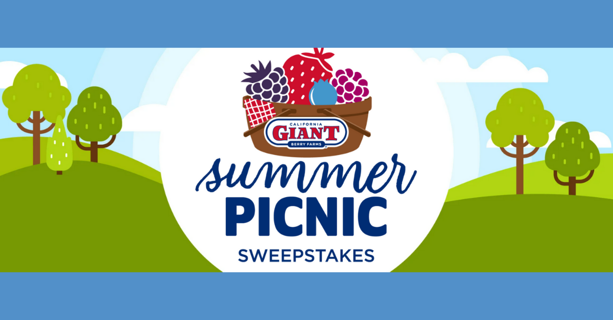California Giant Summer Picnic Sweepstakes