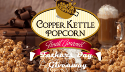 Copper Kettle Popcorn Fathers Day Giveaway