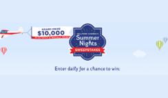 Hallmark Channels Summer Nights Sweepstakes