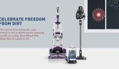Hoover Freedom From Dirt Giveaway