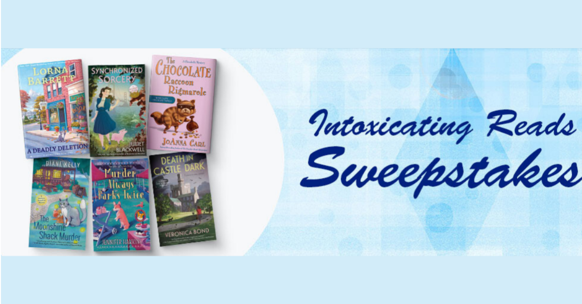 Intoxicating Reads Sweepstakes