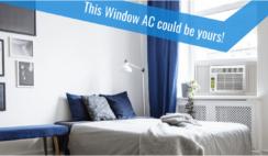 Keystone Window Unit Air Conditioner Giveaway