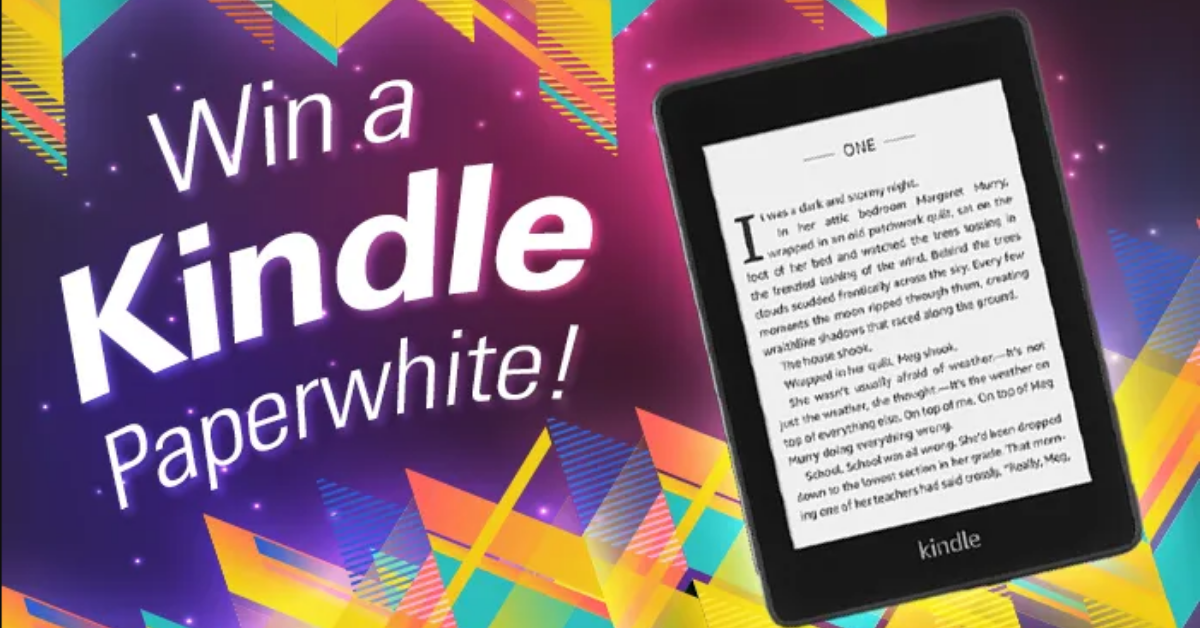 Kindle Paperwhite Giveaway