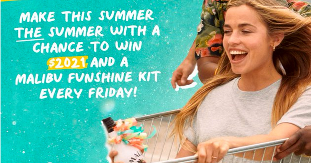 Malibu Let the Funshine Sweepstakes and Instant Win Game