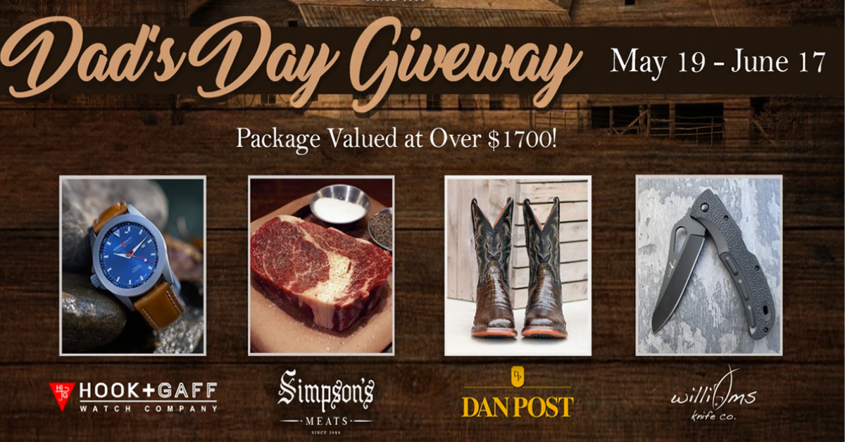 Simpsons Meats 2021 Dads Day Giveaway