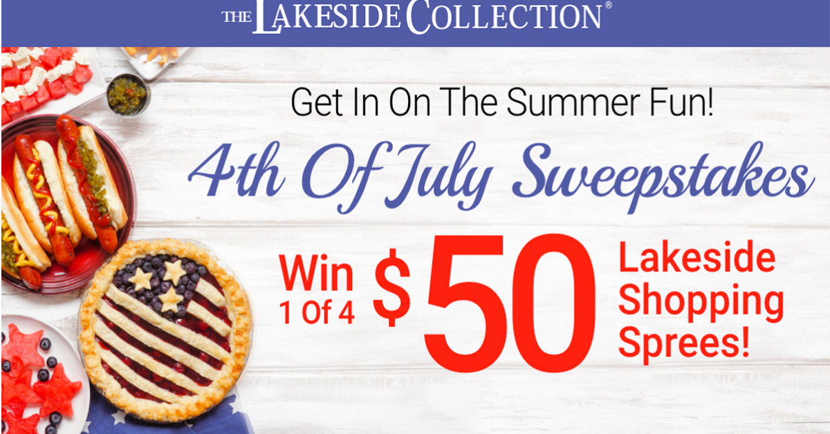 The Lakeside Collection 4th of July Sweepstakes