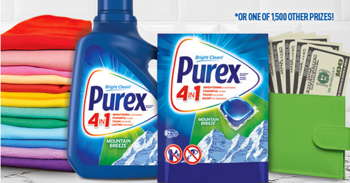 The Purex PAYDAY Sweepstakes