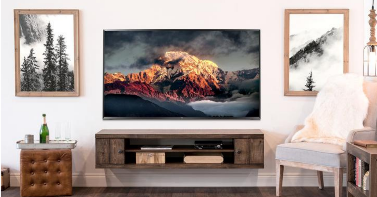 Woodwaves Floating Farmhouse Collection TV Stand Giveaway