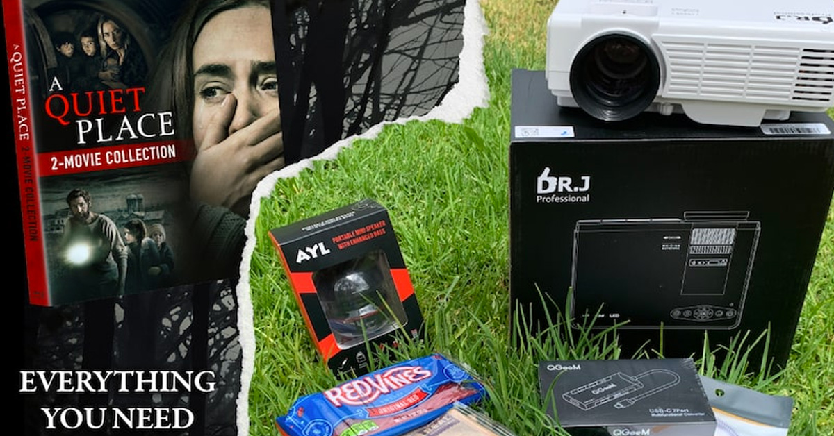 A Quiet Place Movie Night Prize Pack Giveaway