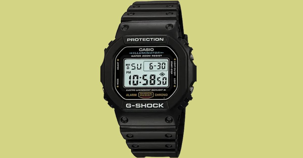 Barton Watch Bands G-Shock DW5600E-1V Watch Giveaway