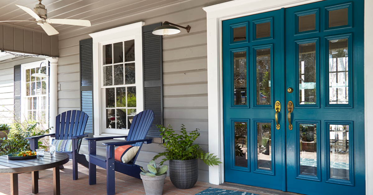Behr x Hunker Front Entryway Makeover Sweepstakes