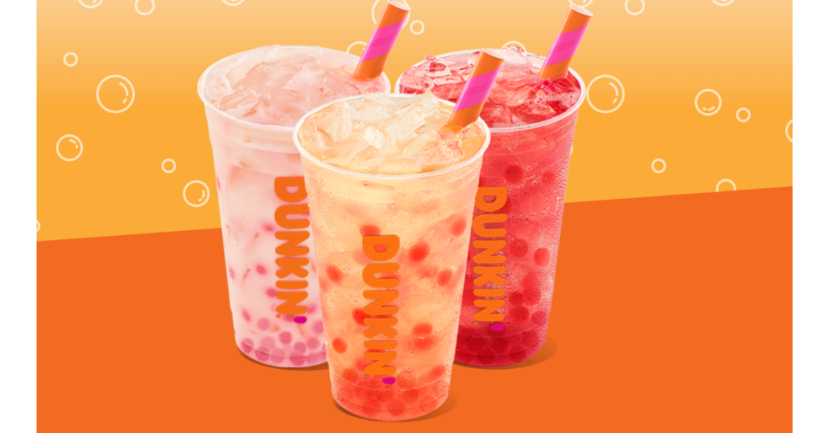 Dunkin Popping Bubbles Sweepstakes and Instant Win Game