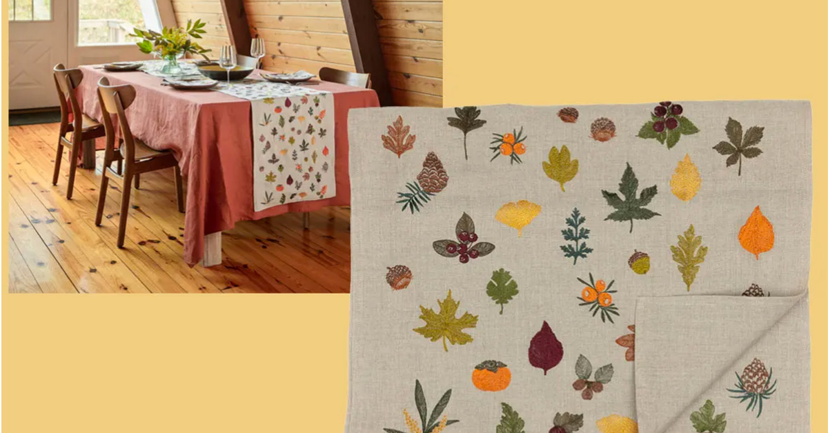 Fall Garland Table Runner Giveaway