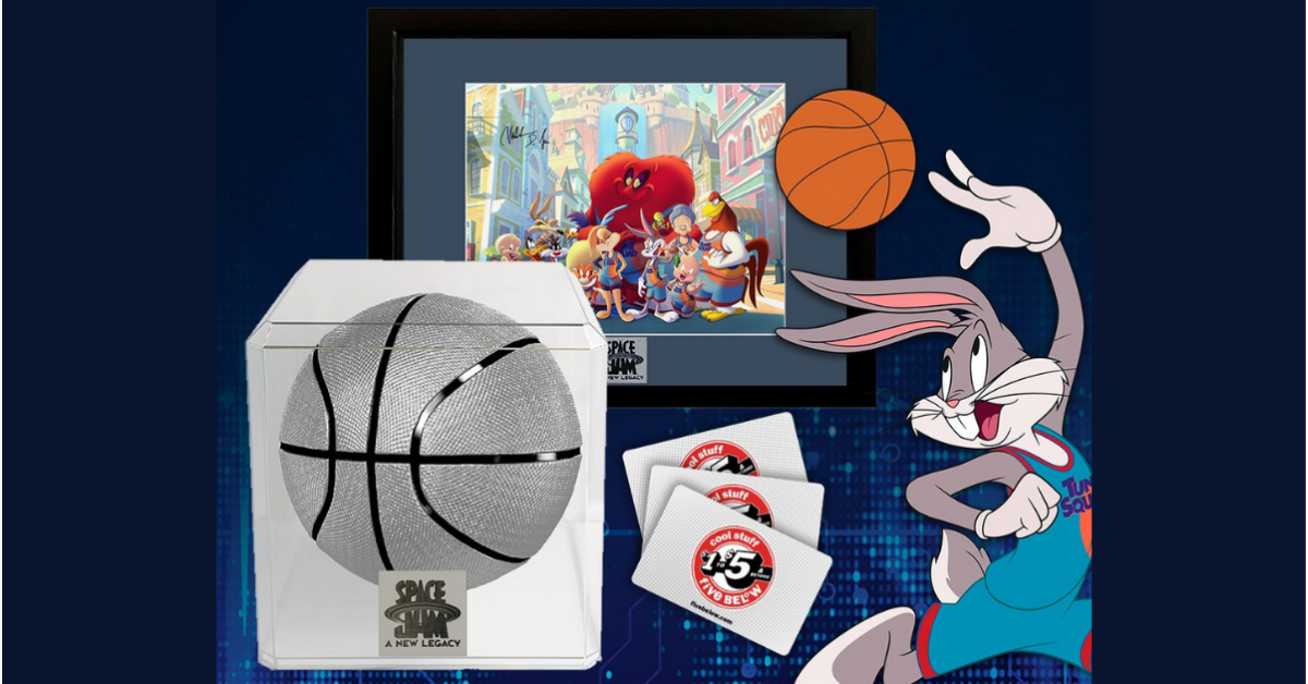 Five Below Space Jam Money Cant Buy Sweepstakes