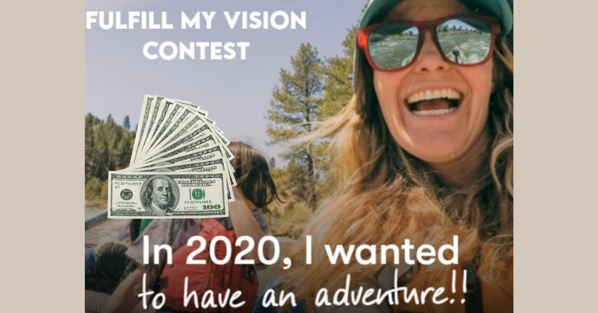 Fulfil My Vision Giveaway
