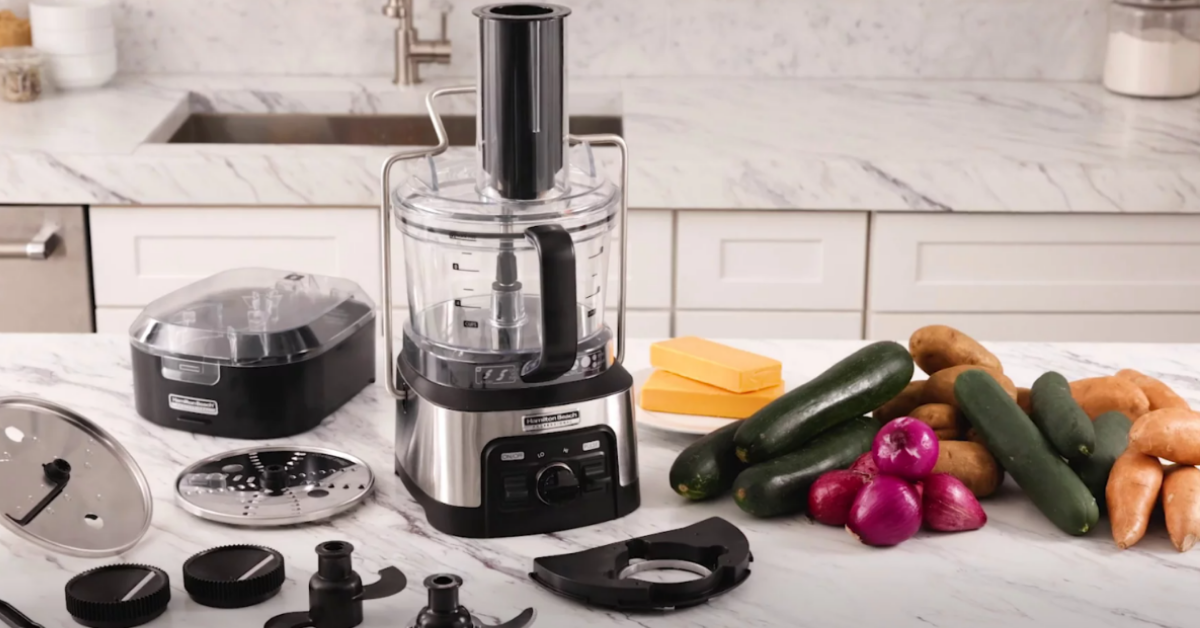 Hamilton Beach Professional Spiralizing Stack and Snap Food Processor Giveaway