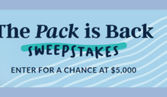 Lands End The Pack is Back Sweepstakes