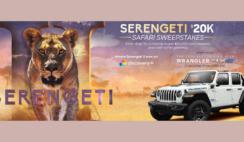 Serengeti $20K Safari Sweepstakes