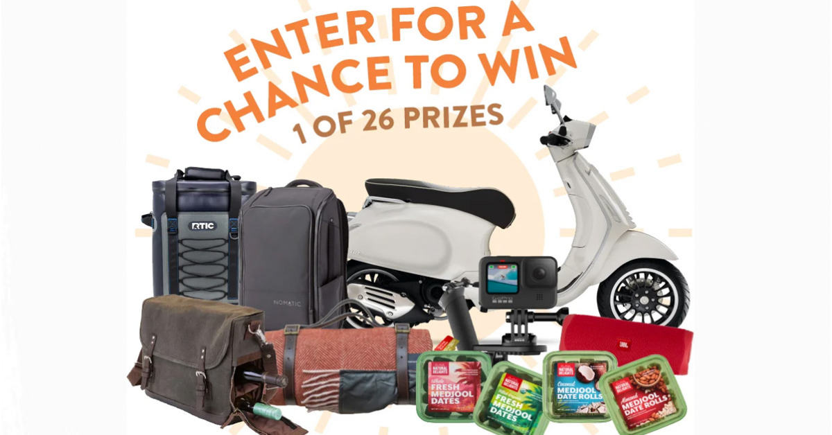 Snacking in the Sun Sweepstakes