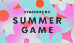 Starbucks Summer Instant Win Game