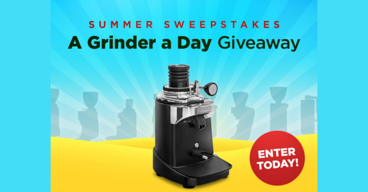 Summer Sweepstakes Grinder A Day Giveaway