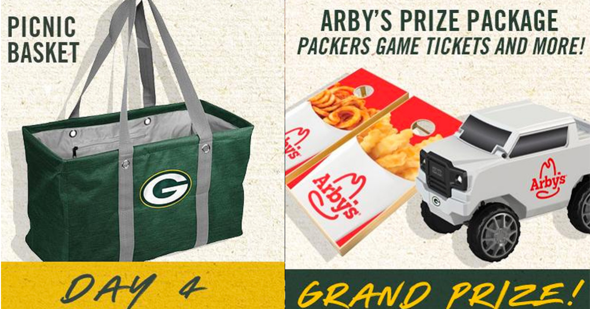 The 202112 Days of Summer Sweepstakes with Arbys