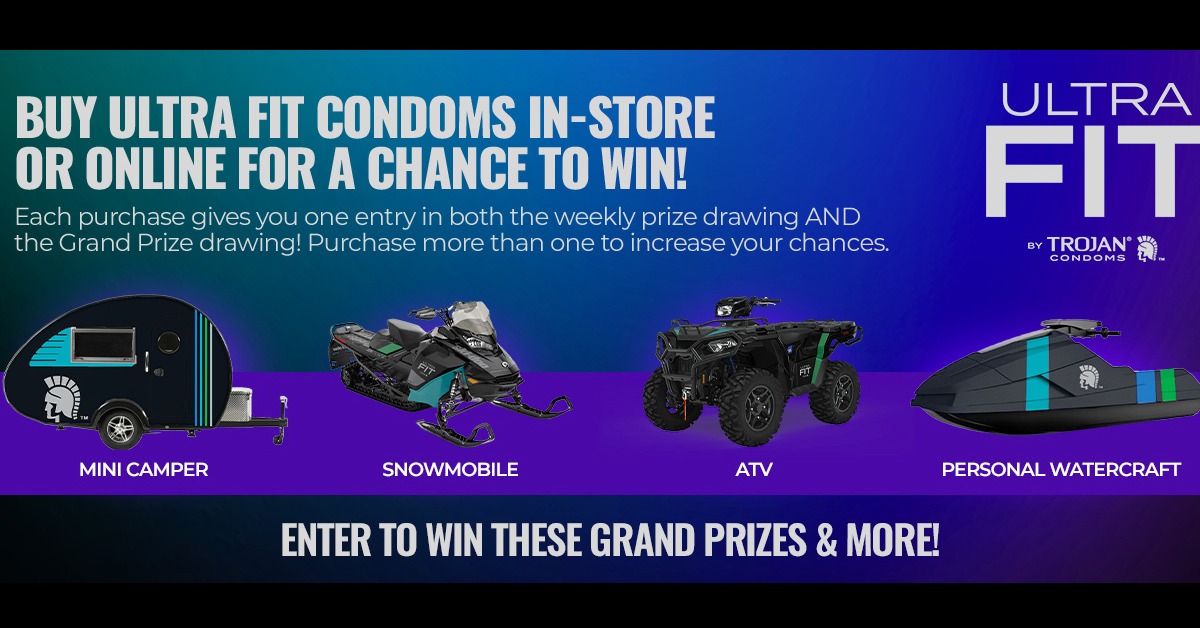 The Trojan Ultra Fit Sweepstakes