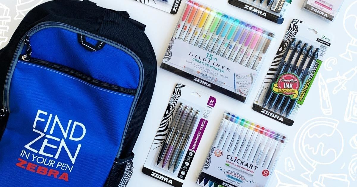 The Zebra Pens Back to School Sweepstakes