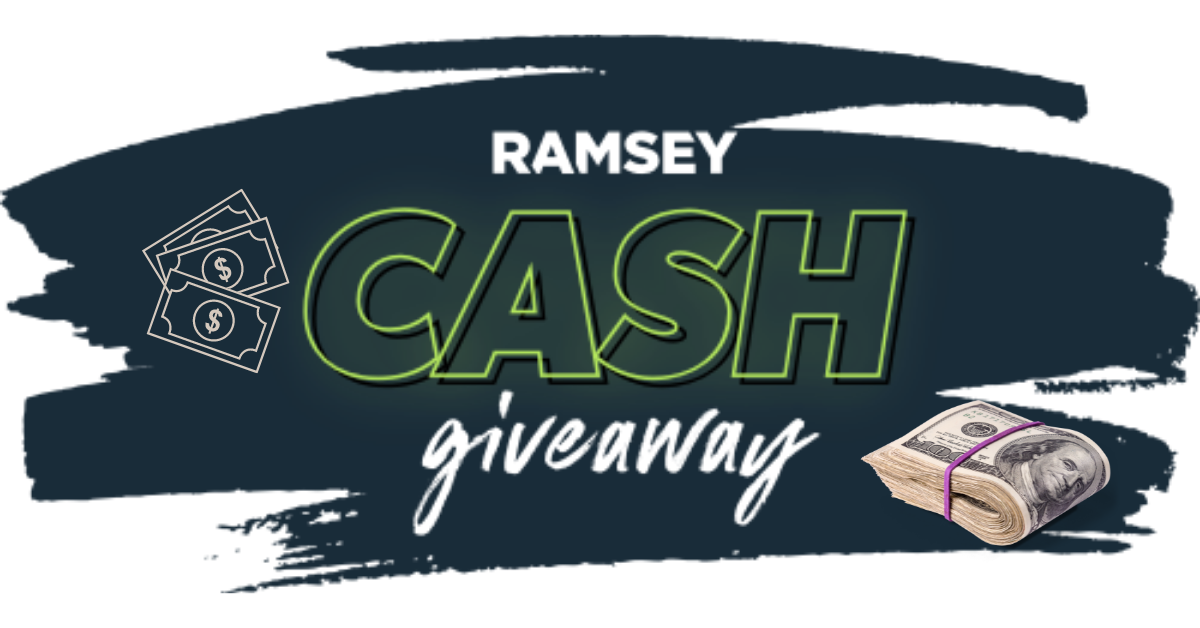 2021 Ramsey Cash Giveaway