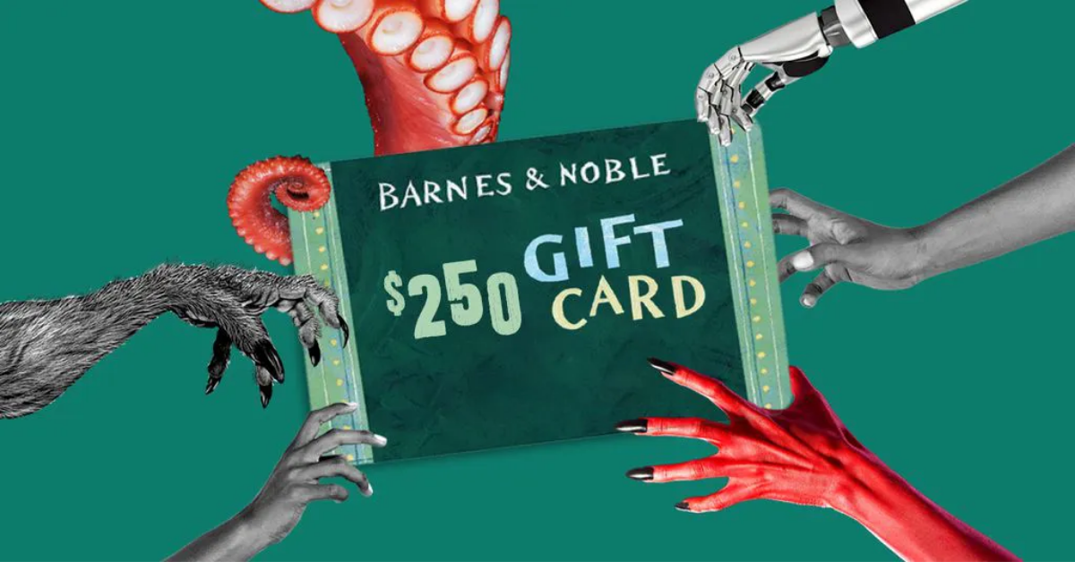 $250 Barnes and Noble Gift Card Giveaway