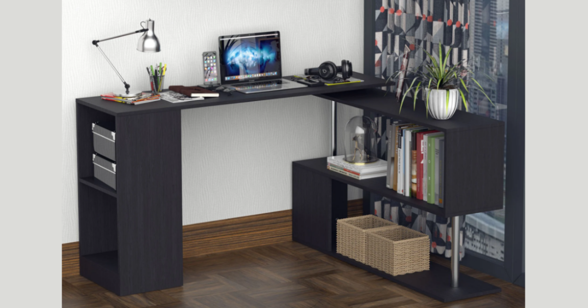 Aosoms Back to School Rotating LShaped Desk Giveaway