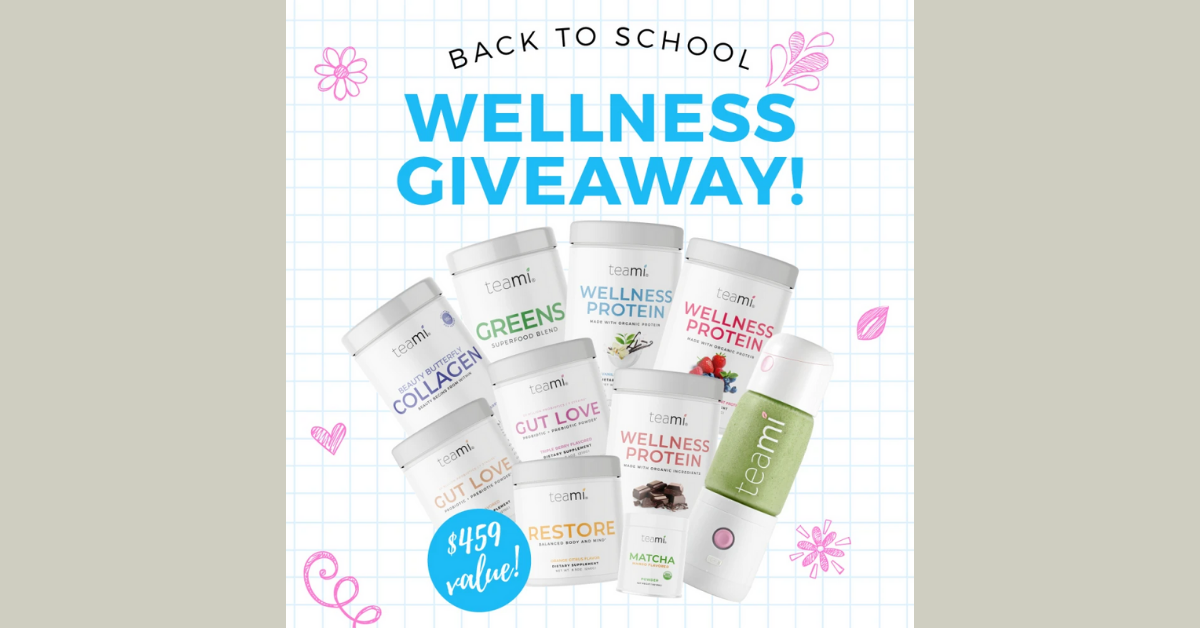 Back to School Wellness Giveaway