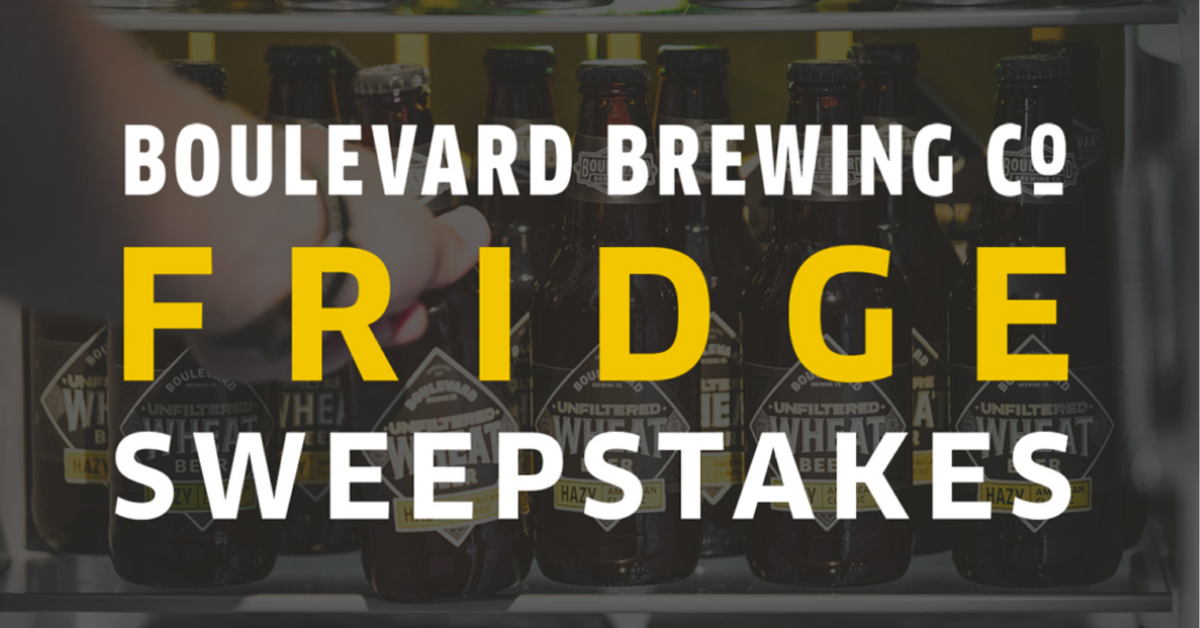 Boulevard Brewing Company Fridge Sweepstakes