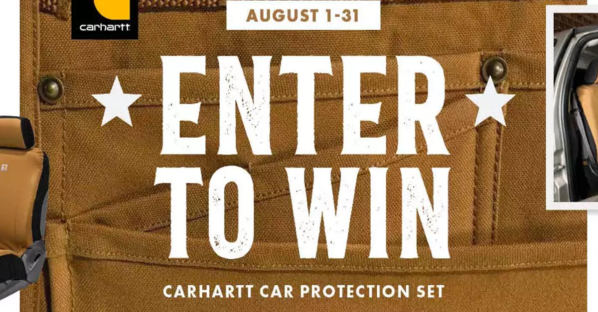 Carhartt Car Protection Set Giveaway