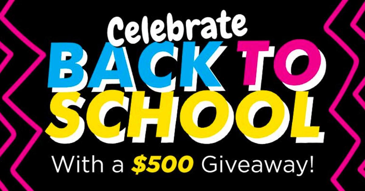 Dr Jays Celebrate Back to School Giveaway