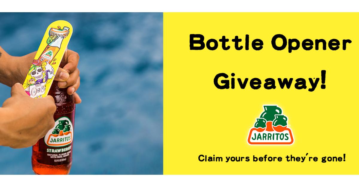 FREE Jarritos Bottle Opener