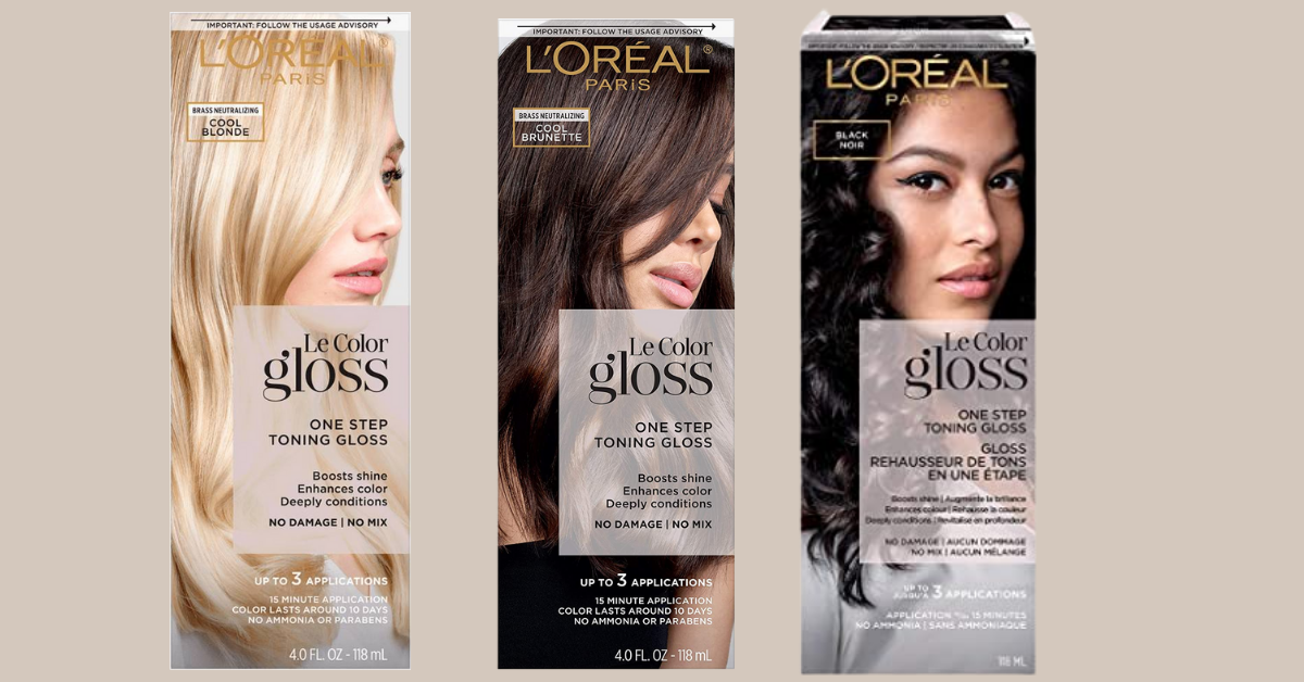 FREE LOreal Paris Le Color Gloss In Shower Toning Gloss Sample