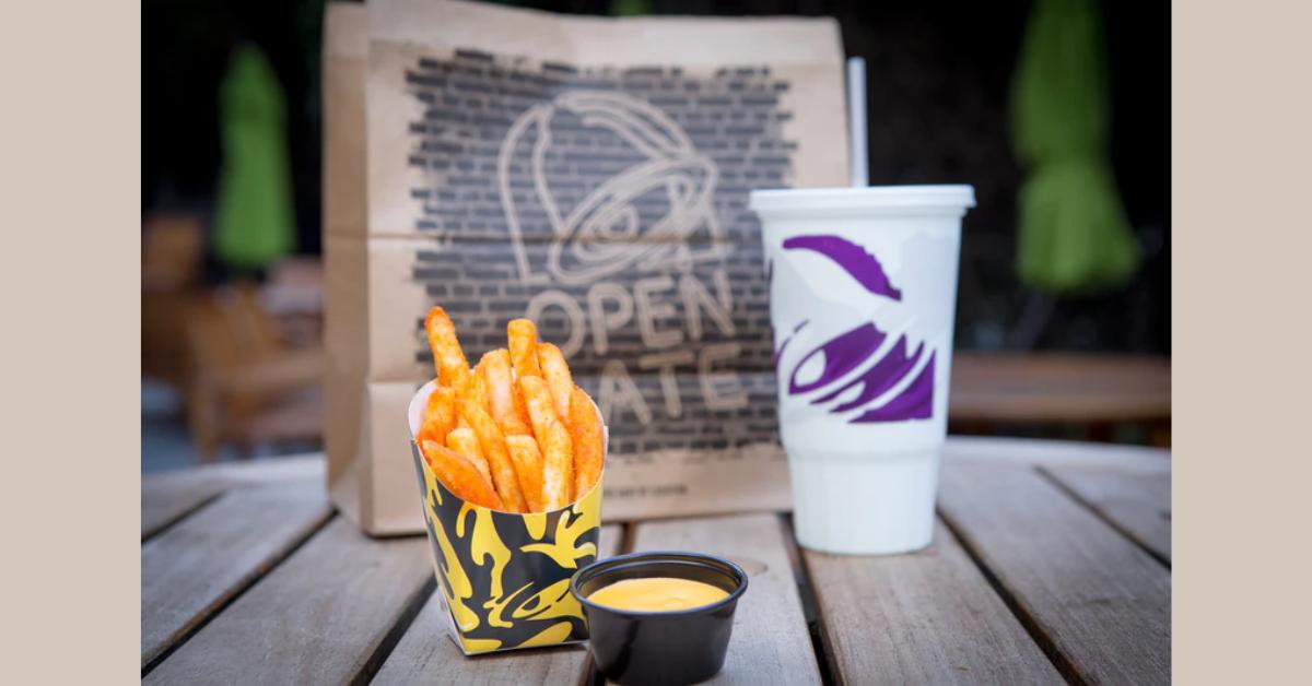 FREE Nacho Fries At Taco Bell