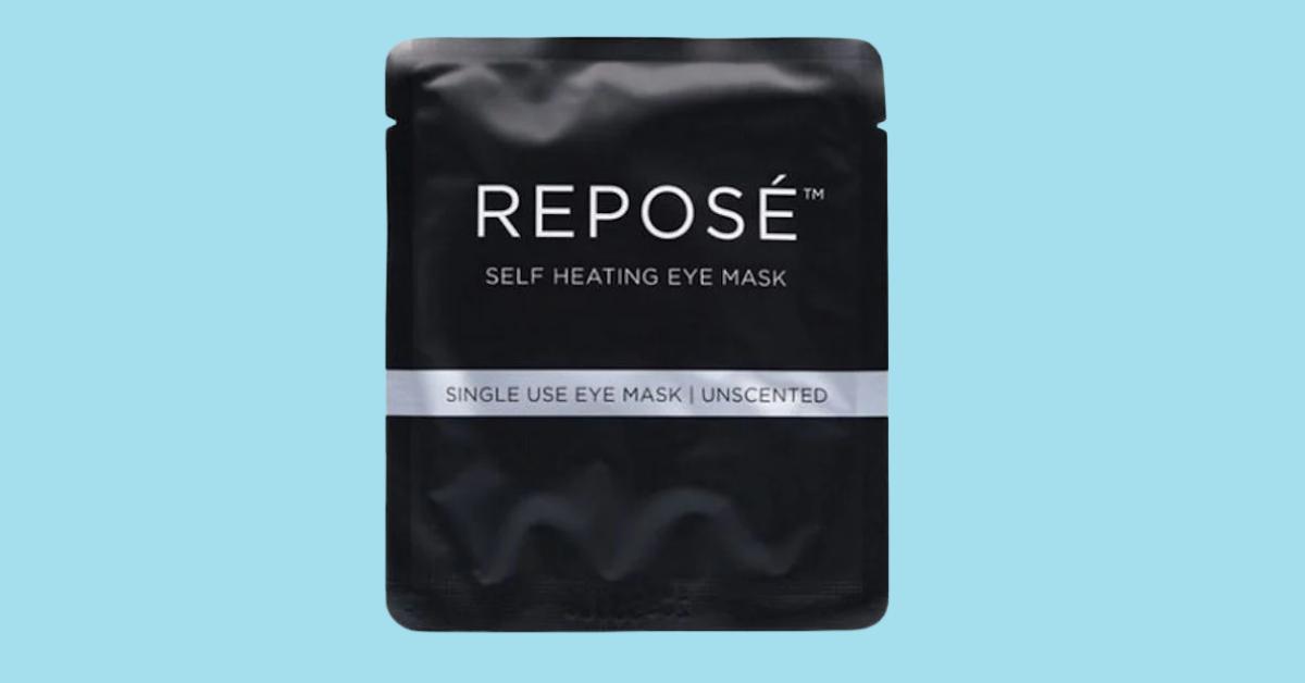 FREE Repose Self Heating Eye Mask Sample