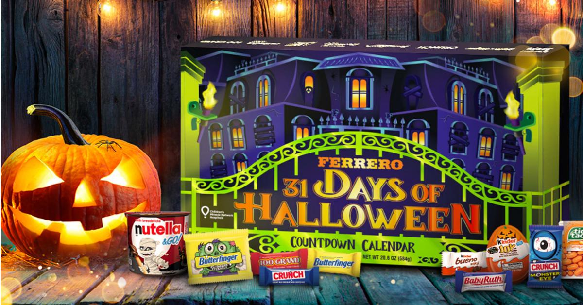 Ferrero 31 Days of Halloween Countdown Calendar Sweepstakes