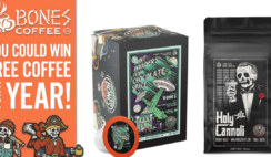 Free Coffee For a Year Giveaway