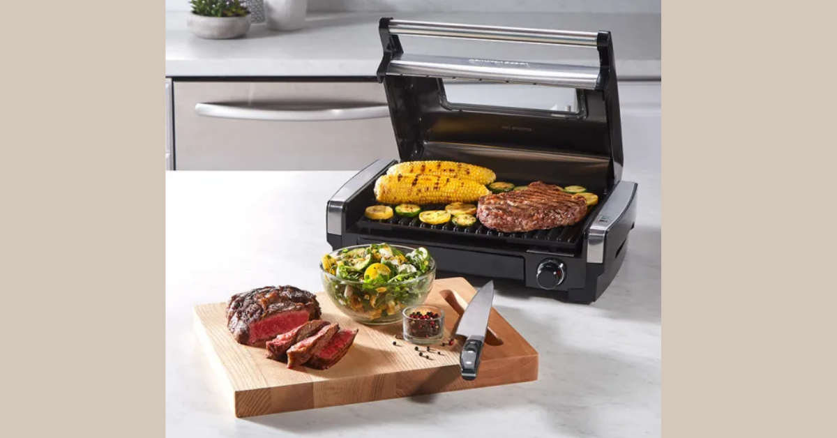Hamilton Beach Searing Grill with Lid Window Giveaway
