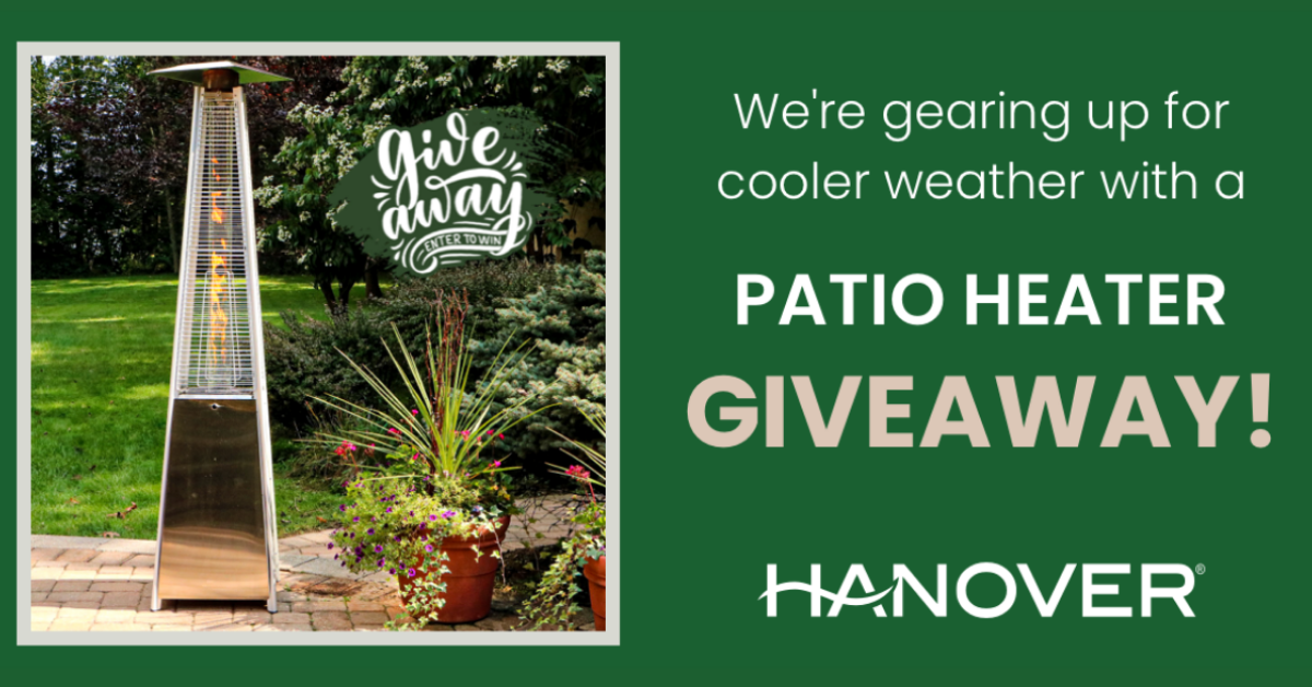 Hanover Patio Heater Giveaway