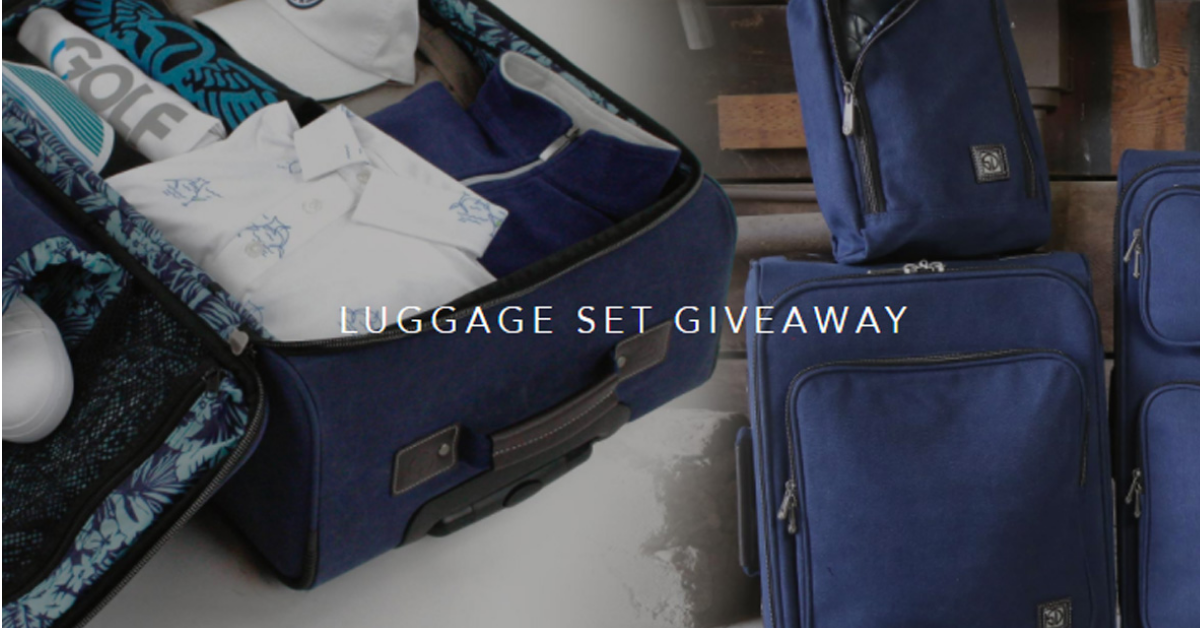 Hearst Luggage Giveaway