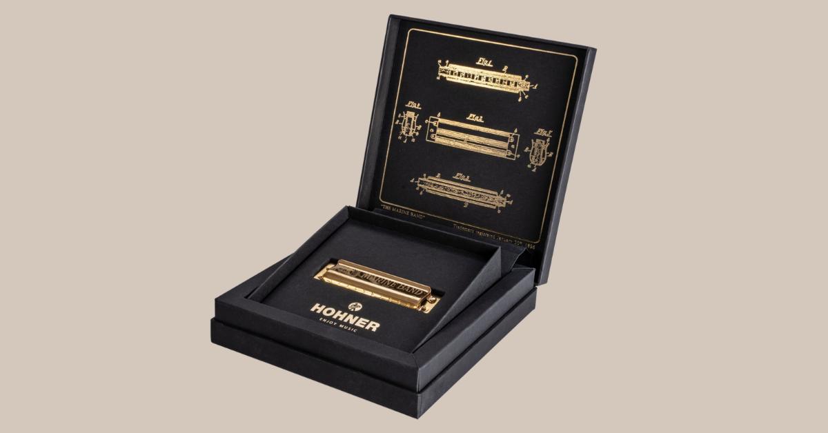 Hohner Marine Band 125th Anniversary Exclusive Harmonica Giveaway