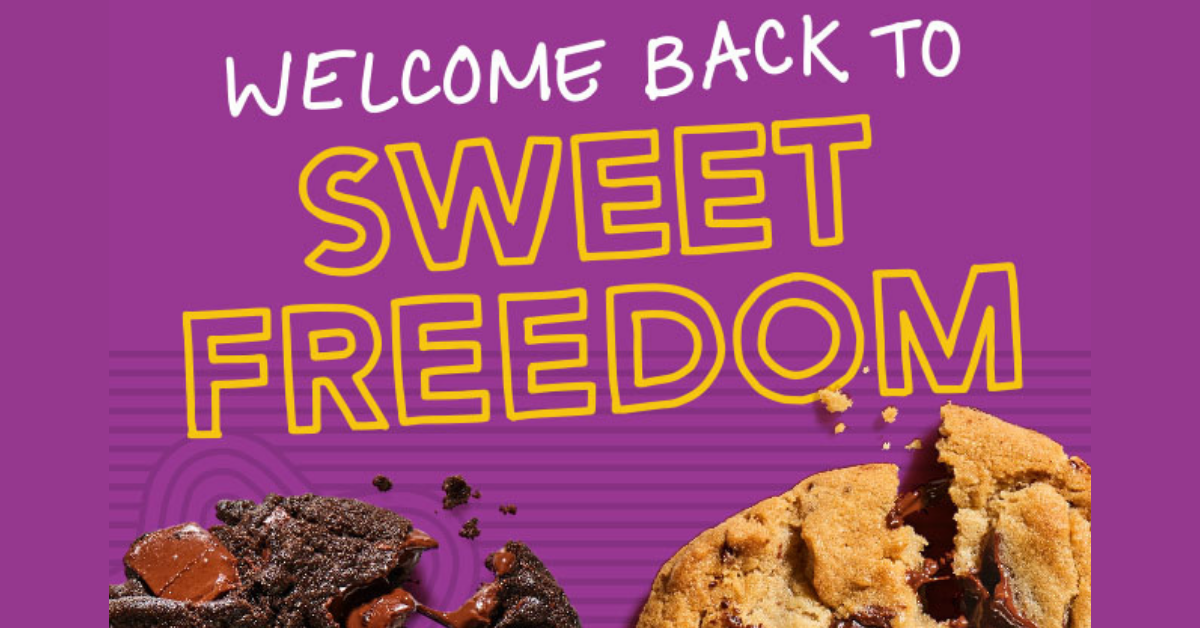 Insomnia Cookies Sweet Freedom Sweepstakes