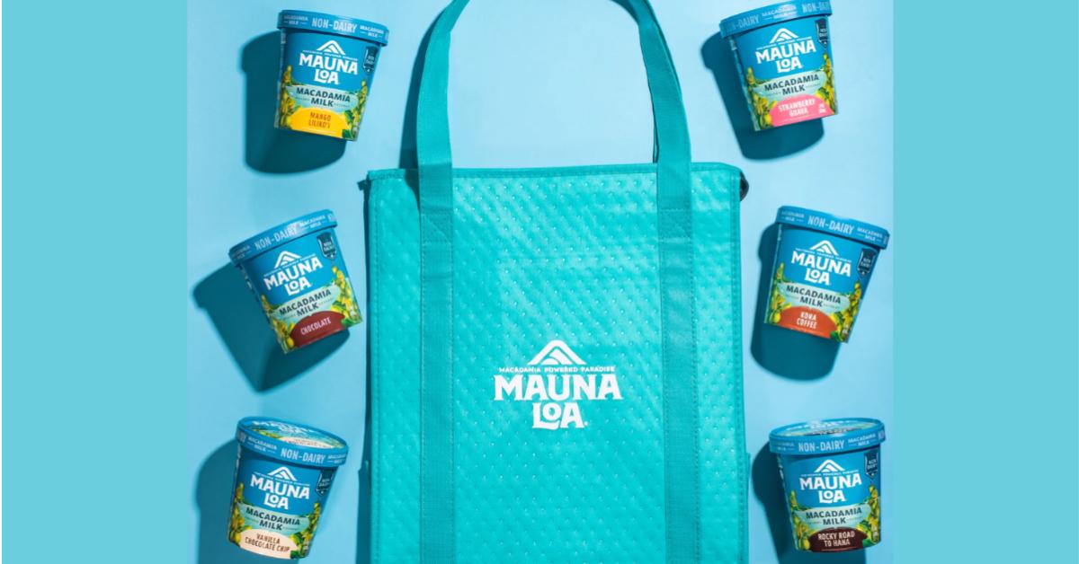 Mauna Loa Ice Cream and Freezer Tote Giveaway